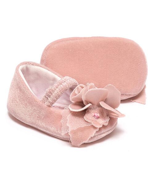 Velvet newborn shoes