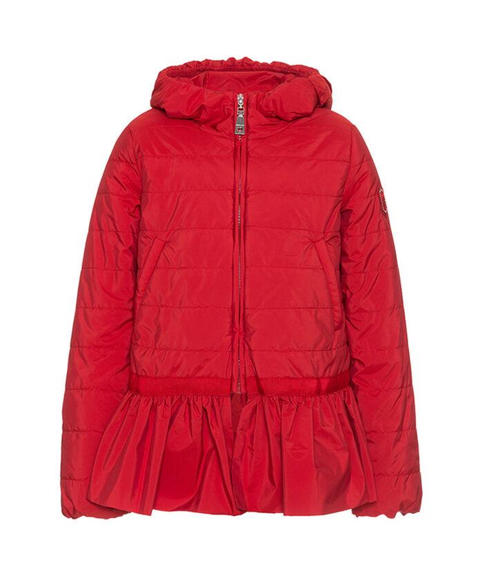 Короткая нейлоновая куртка