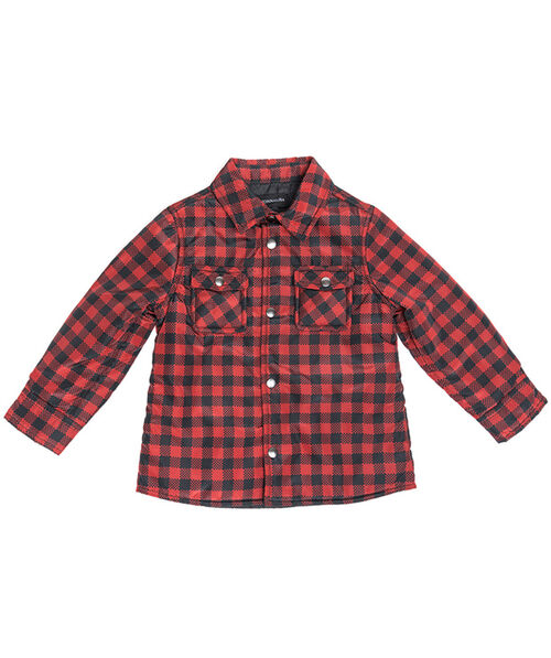 Baby's tartan quilted jacket