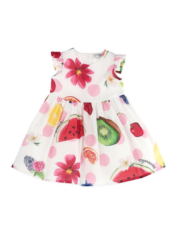Maxi fruit print dress