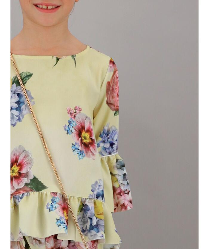 Floral cady blouse