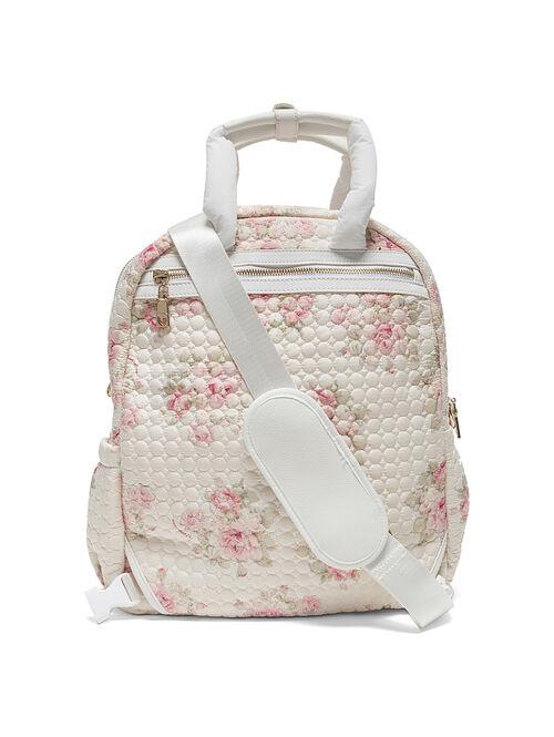 Nursery bag with flowers