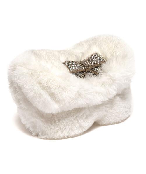 Eco-fur shoulder bag