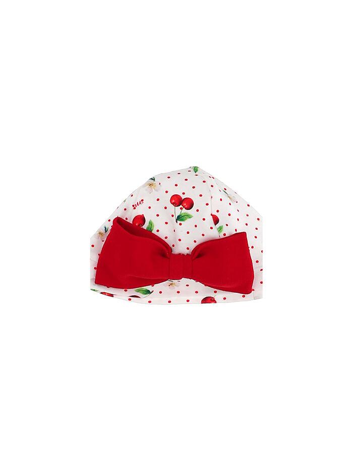 Newborn bonnet with bow
