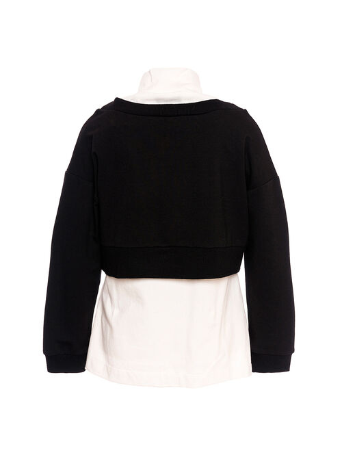 Sweatshirt and tank-top