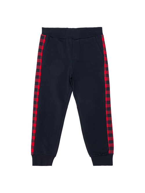 Sweat pants with stripe