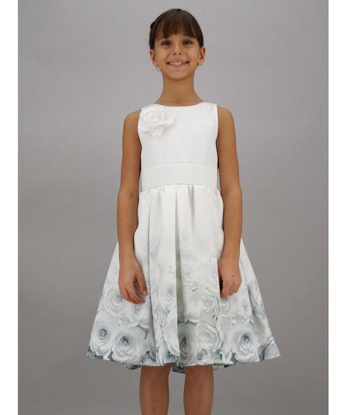 Sleeveless mikado dress