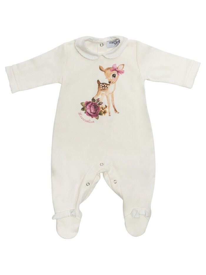 Play suit with fawn