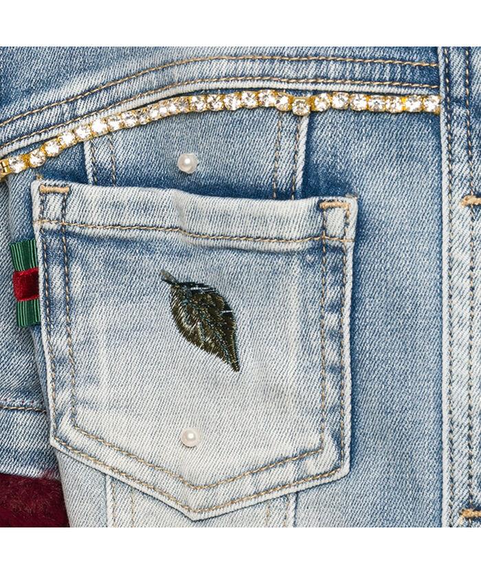Элегантная джинсовая курточка