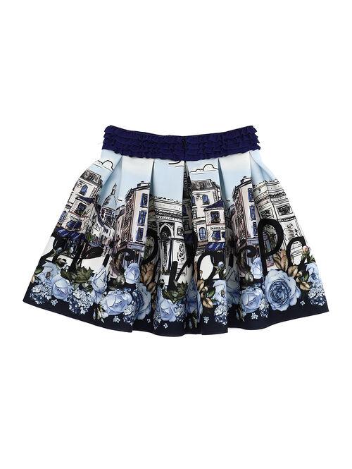 Printed neoprene skirt