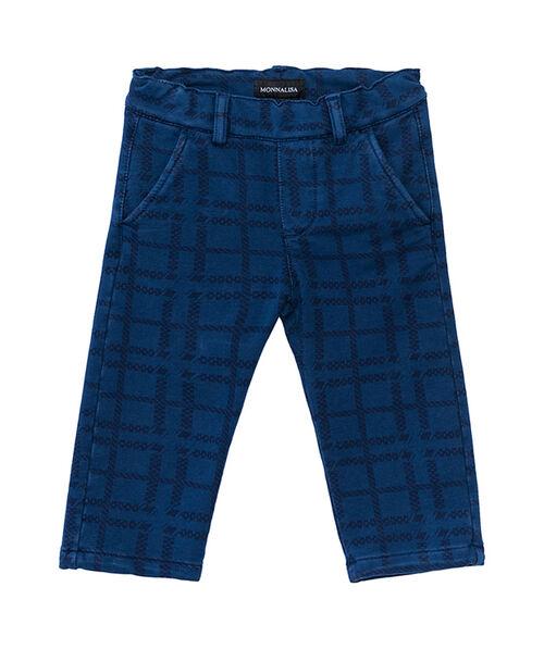 Fleece chino trousers