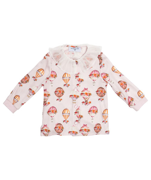 Twill printed shirt