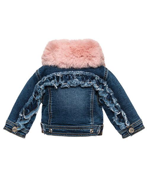 Джинсовая курточка с вышивкой