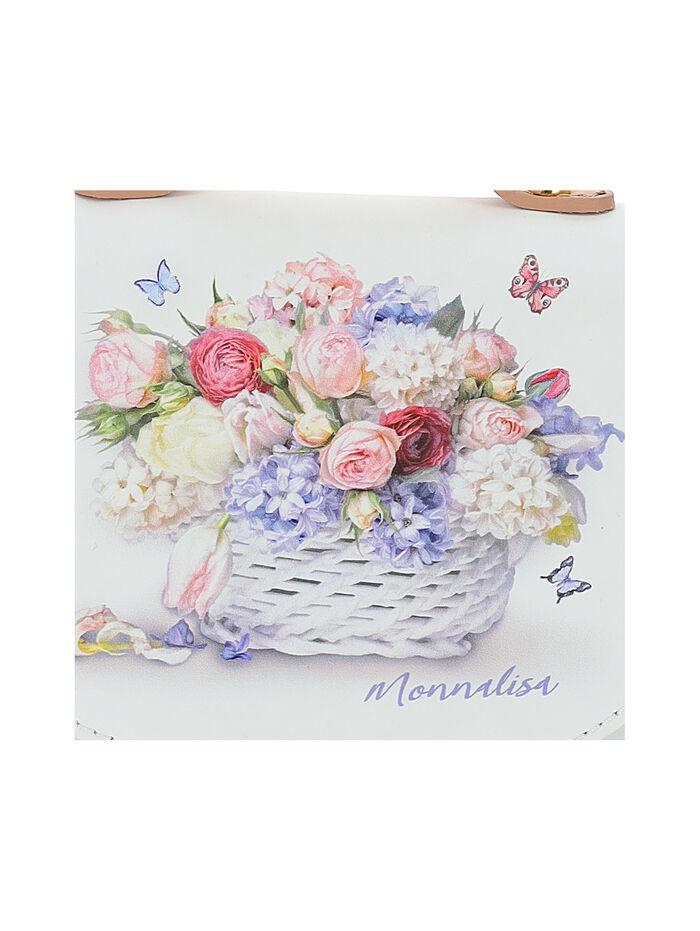 Flower print bag